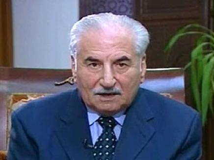 עלי חביב - שר ההגנה הסורי לשעבר (צילום: חדשות 2)