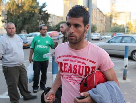 אמיר אבו ניל. לא הגיע לאימון (עמית מצפה) (צילום: מערכת ONE)
