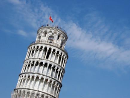 מגדל פיזה (צילום: istockphoto)