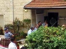 ביתם של ההורים. זירת הרצח (צילום: חדשות 2)