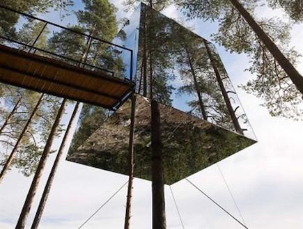מלון על עץ בשוודיה