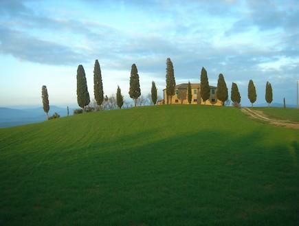 טוסקנה איטליה (צילום: נועם רון)