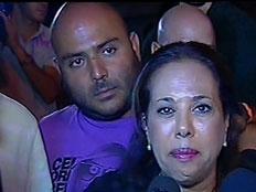 מרגול ואטדגי בעצרת המחאה בבאר שבע