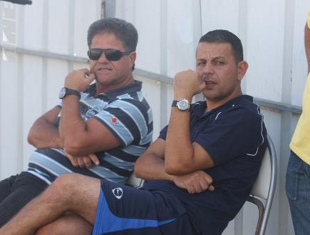 שירזי וגבאי. המאמן מקבל תמיכה מהמנכ