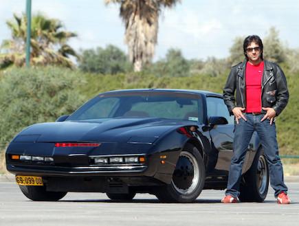 """המכונית מסדרת הטלוויזיה """"אביר על גלגלים"""" (צילום: נעם עופרן, מוטוקאר )"""