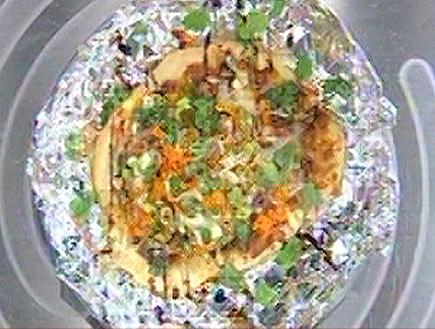 פיצה ברוטב חמאת בוטנים והוייסין (תמונת AVI: mako)
