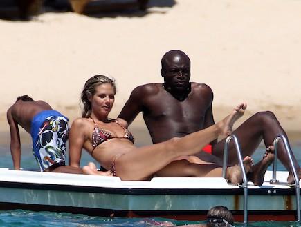 היידי קלום וביל בים (צילום: Photopunto / Splash News, Splash news)