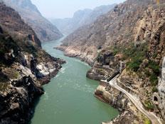 נהר הזמבזי באפריקה (צילום: AP)