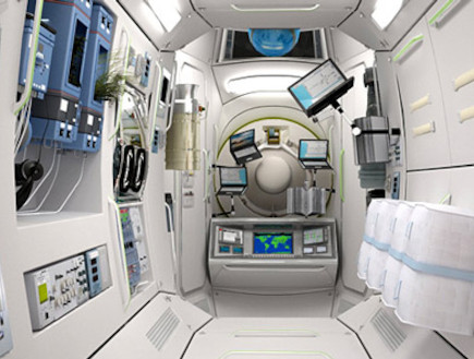 מלון בתחנת חלל (צילום: האתר הרשמי)