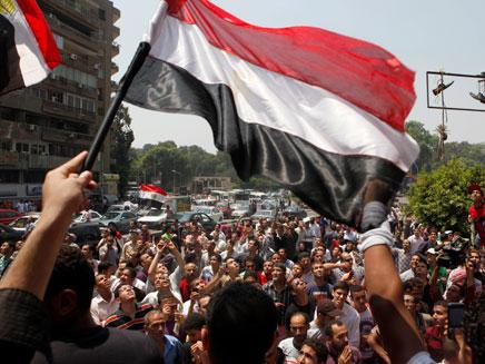 מצרים בוחרת (צילום: AP)
