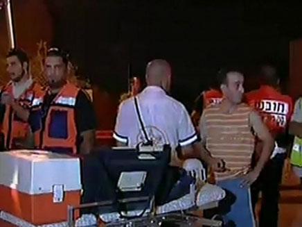 הרוג מפגיעת רקטה בבאר שבע (צילום: חדשות 2)