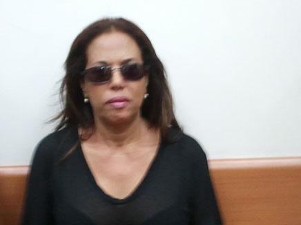 מרגלית צנעני בבית המשפט (צילום: עזרי עמרם, חדשות 2)