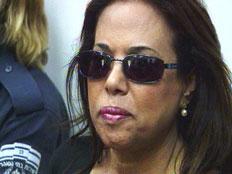 מרגלית צנעני בהארכת מעצרה בבית המשפט (צילום: חדשות 2)
