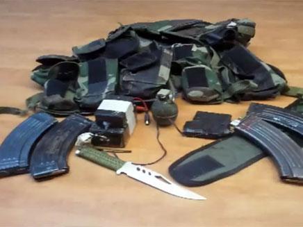 """קיבל כסף מפעילי ג'יהאד ורכש רובה (צילום: דו""""צ)"""