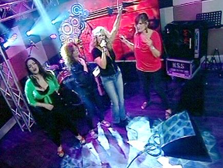 נשים גדולות בריקוד סוער עם אילנה (תמונת AVI: mako)