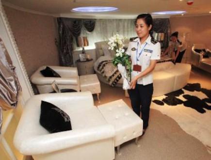 חדר במלון טיאנז'ין
