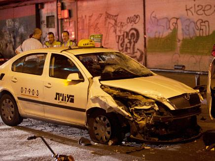 פיגוע דקירה ודריסה בתל אביב (צילום: רויטרס)