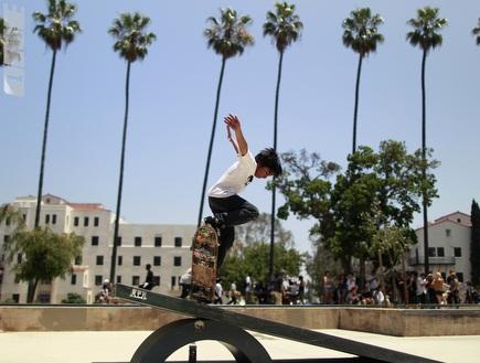 "סקייט פארק בלוס אנג´לס. בקרוב גם בב""ש (רויטרס) (צילום: מערכת ONE)"