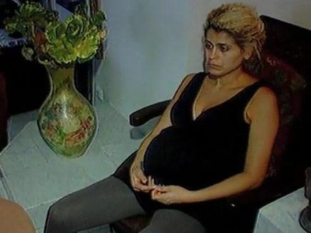 לילך שושן במהלך ההיריון (צילום: חדשות 2)
