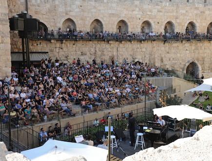 אסף אבידן מגדל דוד (צילום: שרון רביבו)