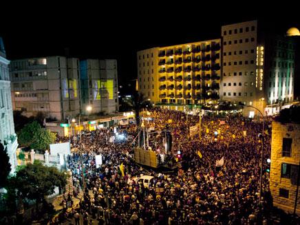 העם עדיין דורש צדק חברתי? (צילום: AP)