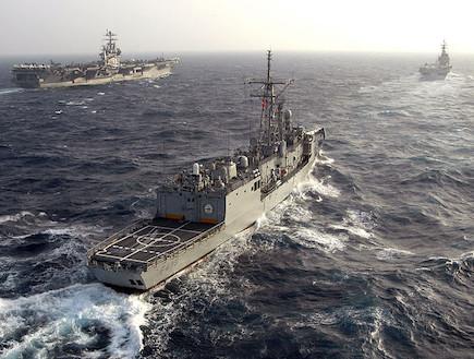ספינת קרב טורקית (צילום: צבא טורקיה)