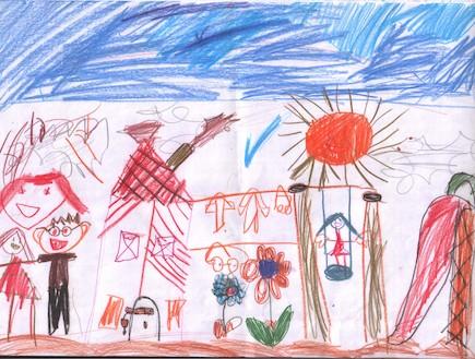 פענוח ציורי ילדים - כיושרים חברתיים הציור הכללי (צילום: תומר ושחר צלמים)
