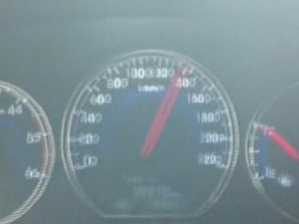 מהירות מופרזת ספידומטר (צילום: חדשות 2)