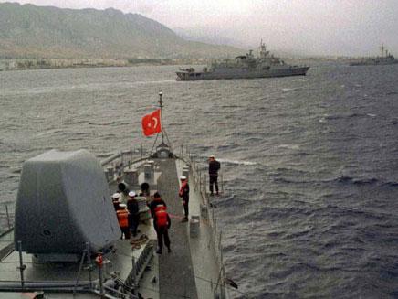 הצי הטורקי. בקרוב מול קפריסין? (צילום: רויטרס)
