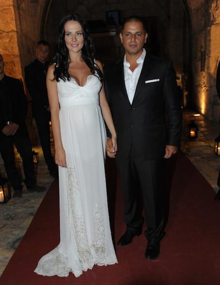 חתונה מרינה קבישר (צילום: שרון רביבו)
