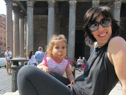 לילי ואלה בטיול באיטליה (צילום: תומר ושחר צלמים)