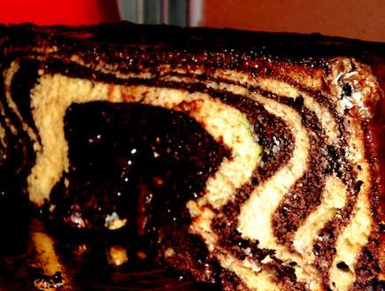עוגת שיש חגיגית בקלי קלות