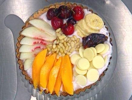 פאי עם קרם ופירות טריים (תמונת AVI: mako)