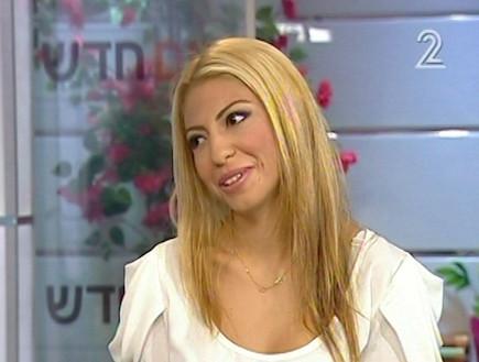 סימה איפרגן בתכנית יום חדש (תמונת AVI: mako)
