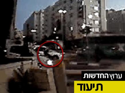 """תיעוד הדרמה במרכז ירושלים (צילום: """"איחוד הצלה"""")"""