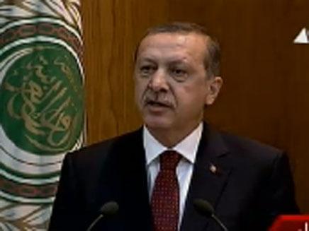 """כבוד ל""""סולטאן"""" הטורקי בקהיר (צילום: חדשות 2)"""