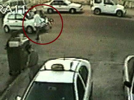 השוד תועד במצלמות אבטחה (צילום: חדשות 2)