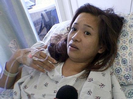 מלאני סוארז, פיליפינית שנשדדה (öéìåí: חדשות 2)