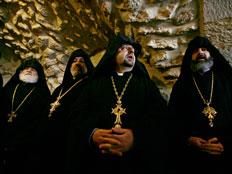 הכנסייה תומכת בפנייה הפלסטינית (צילום: רויטרס)
