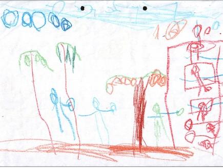 פענוח ציורי ילדים - פינוק הציור הכללי (צילום: תומר ושחר צלמים)