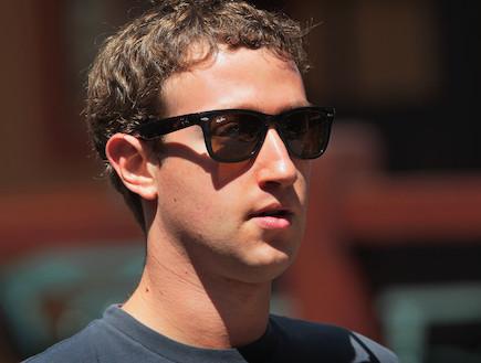 """מייסד ומנכ""""ל פייסבוק מארק צוקרברג (צילום: Scott Olson, GettyImages IL)"""