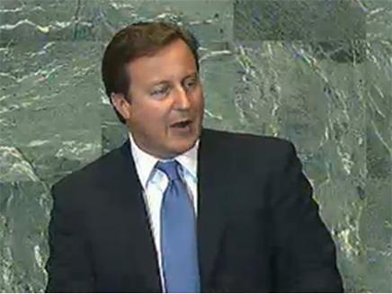 ראש ממשלת בריטניה קמרון (צילום: חדשות 2)