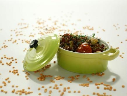מג'דרה מאורז אדום ועגבניות (צילום:  יחסי ציבור )