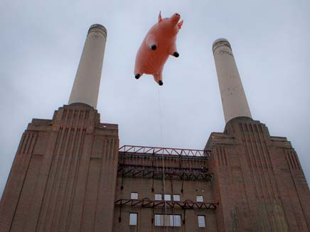 החזיר של פינק פלויד (צילום: AP)