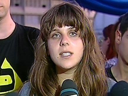 דפני ליף בועדת טרכטנברג (צילום: חדשות 2)