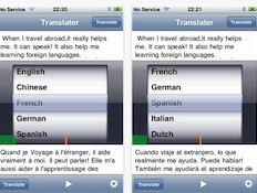 Translator with Voice
