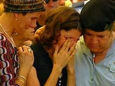 """קרנית בהלוויתו של אודי ז""""ל (צילום: חדשות 2)"""