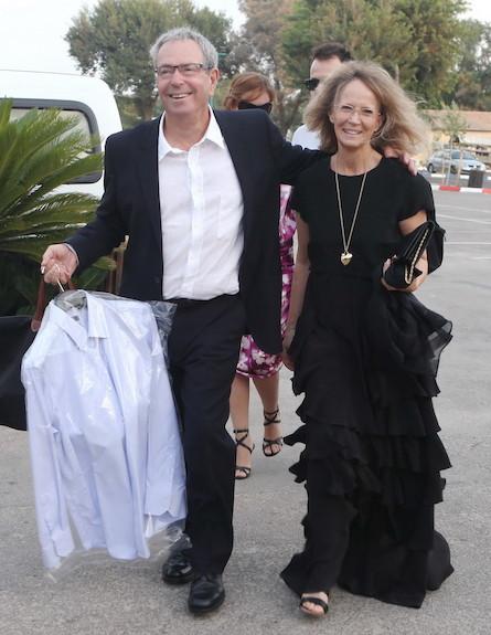 חתונה גיא המאירי - יורם ארבל (צילום: ראובן שניידר)
