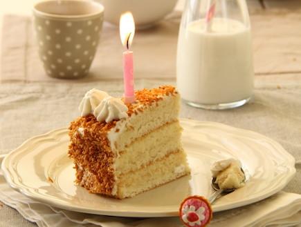 עוגת קוקוס חגיגית (צילום: חן שוקרון, מתוקים שלי)