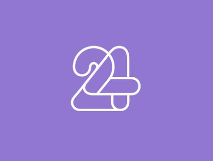 ערוץ 24 לוגו (צילום: mako)